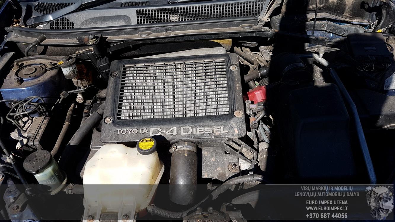 Naudotos automobiliu dallys Foto 8 Toyota RAV-4 2003 2.0 Mechaninė Visureigis 4/5 d. Melyna 2016-8-25 A2952
