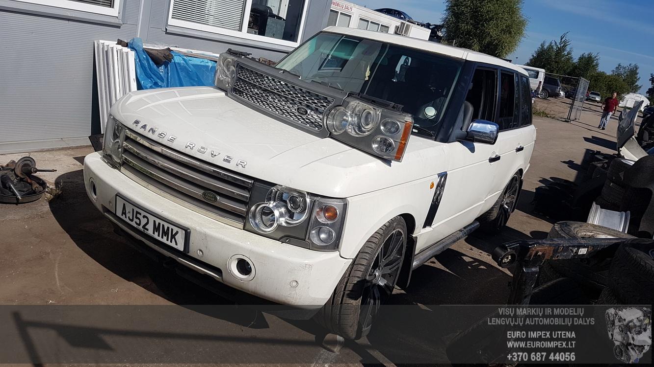 Naudotos automobilio dalys Land Rover RANGE ROVER 2004 4.4 Automatinė Visureigis 4/5 d. Balta 2016-8-26
