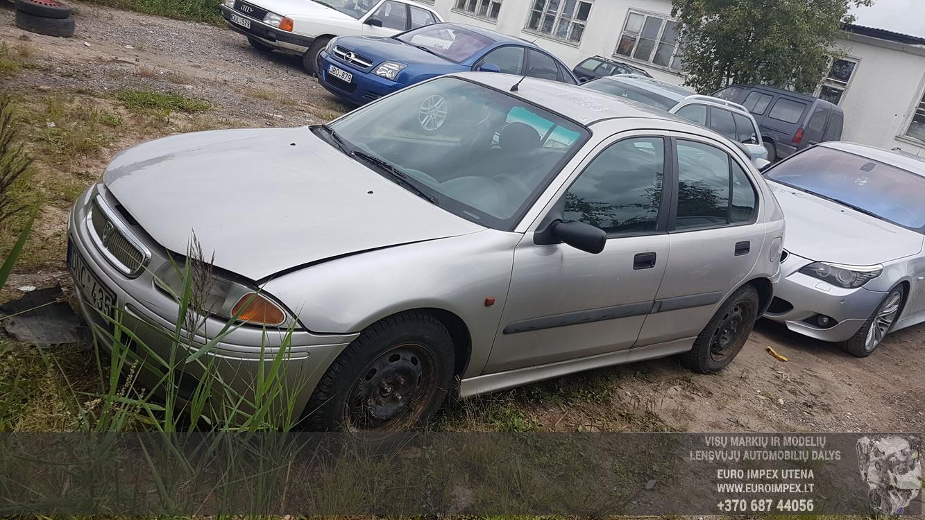 Naudotos automobilio dalys Rover 200-SERIES 1999 2.0 Mechaninė Hečbekas 4/5 d. Pilka 2016-8-31
