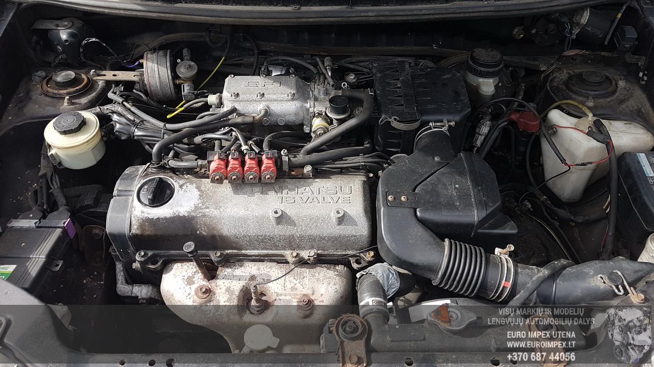 Naudotos automobiliu dallys Foto 8 Daihatsu GRAN MOVE 2000 1.6 Mechaninė Vienatūris 4/5 d. Raudona 2016-8-31 A2963