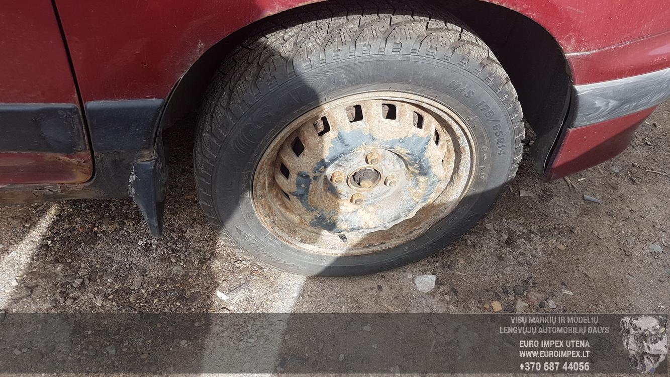 Naudotos automobiliu dallys Foto 4 Daihatsu GRAN MOVE 2000 1.6 Mechaninė Vienatūris 4/5 d. Raudona 2016-8-31 A2963