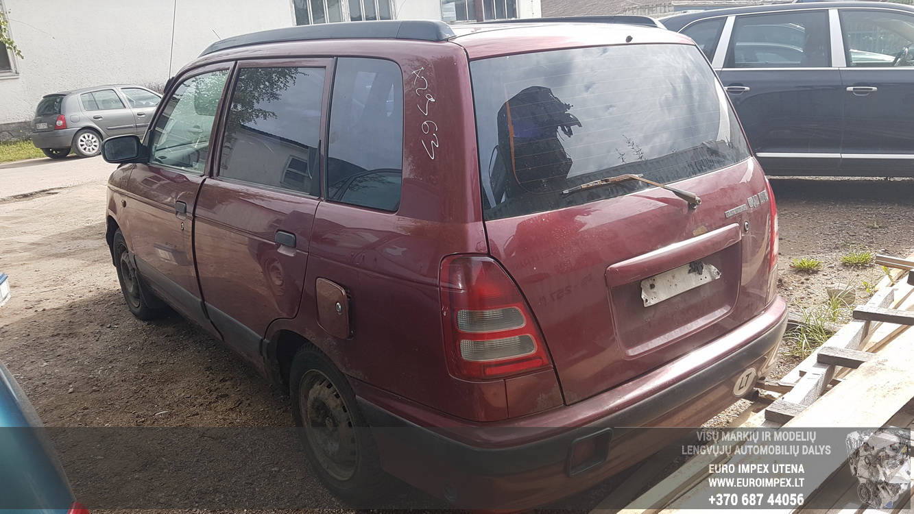 Naudotos automobilio dalys Daihatsu GRAN MOVE 2000 1.6 Mechaninė Vienatūris 4/5 d. Raudona 2016-8-31