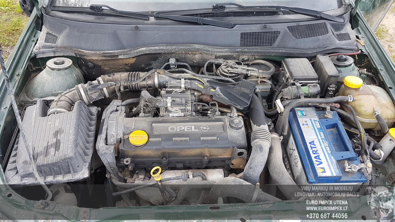 Naudotos automobiliu dallys Foto 8 Opel ASTRA 2000 1.7 Mechaninė Hečbekas 2/3 d. Zalia 2016-9-07 A2970