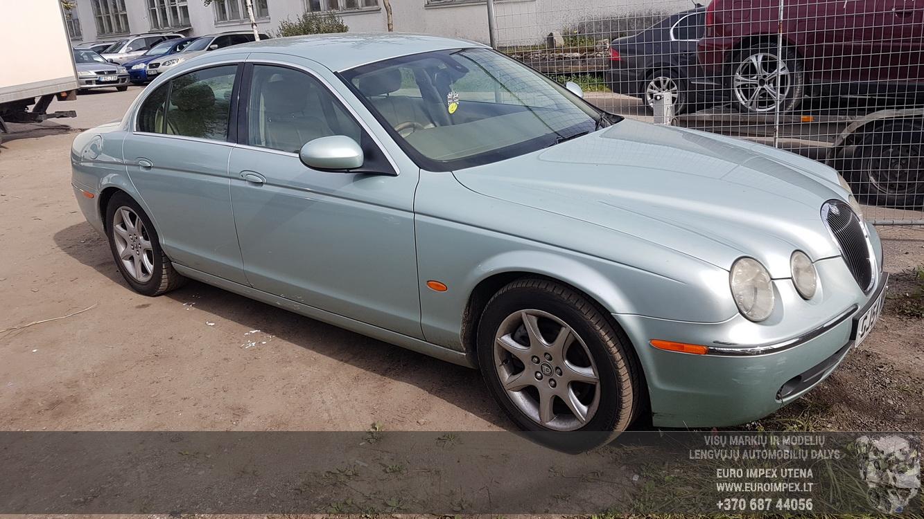 Naudotos automobilio dalys Jaguar S-TYPE 2004 2.7 Automatinė Sedanas 4/5 d. Zydra 2016-9-15