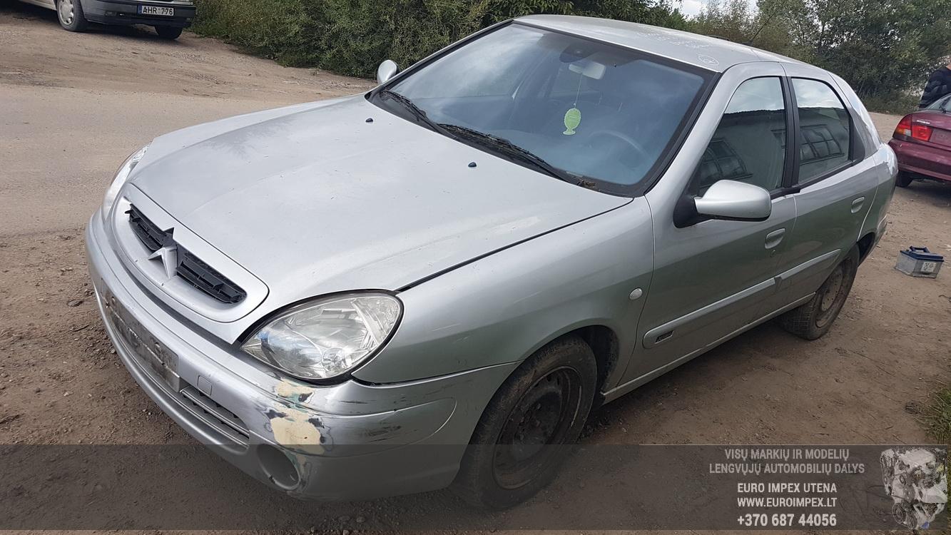 Naudotos automobilio dalys Citroen XSARA 2002 1.6 Mechaninė Hečbekas 4/5 d. Pilka 2016-9-08