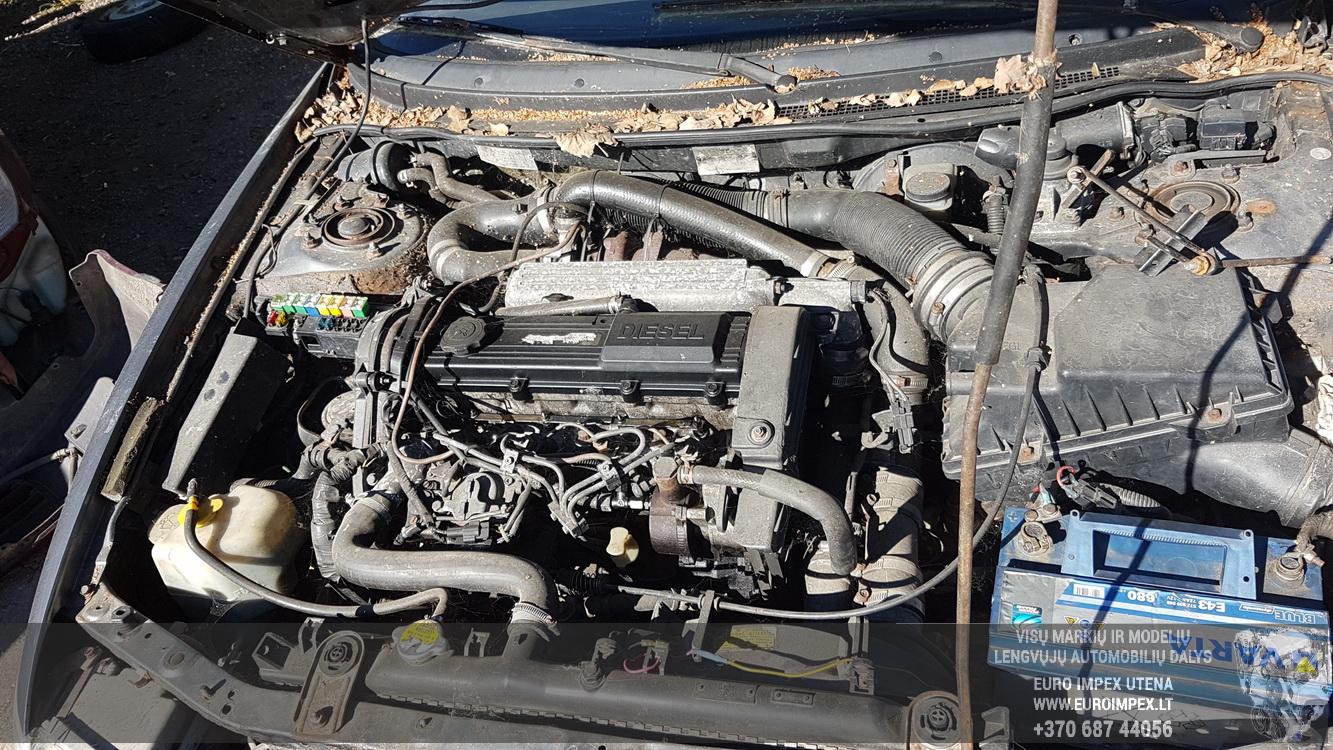 Naudotos automobilio dalys Mazda 626 1996 2.0 Mechaninė Hečbekas 4/5 d. Pilka 2016-9-13