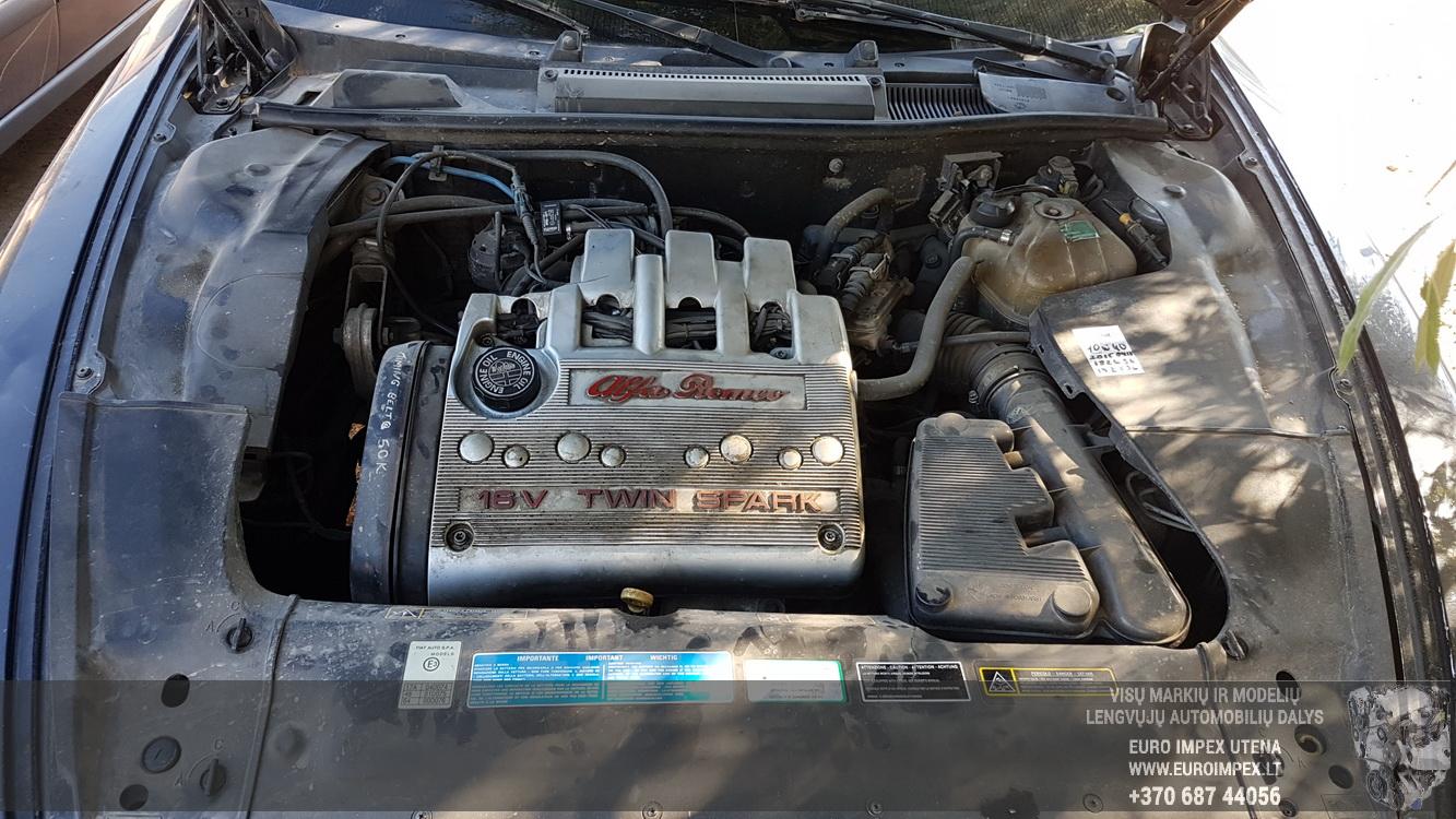 Подержанные Автозапчасти Alfa-Romeo 166 1999 2.0 машиностроение седан 4/5 d. черный 2016-9-15