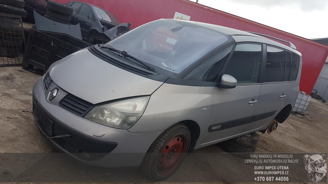 Renault ESPACE 2002 2.2 машиностроение