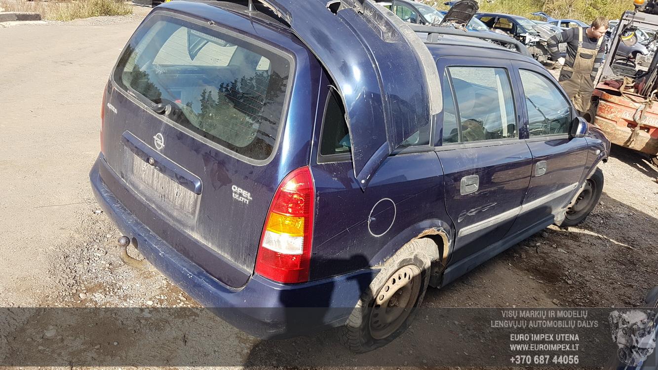 Naudotos automobilio dalys Opel ASTRA 1999 1.7 Mechaninė Universalas 4/5 d. Melyna 2016-9-26