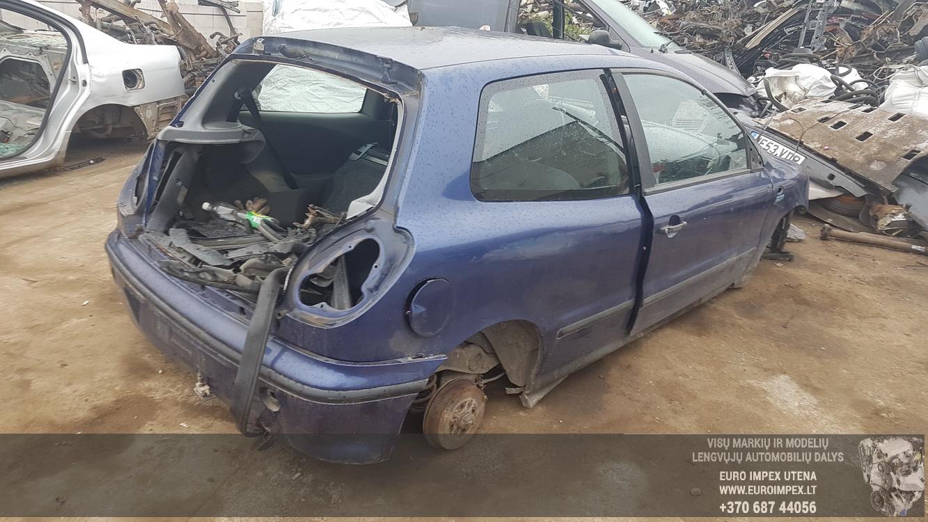 Naudotos automobilio dalys Fiat BRAVO 1996 1.9 Mechaninė Hečbekas 2/3 d. Violetine 2016-9-27
