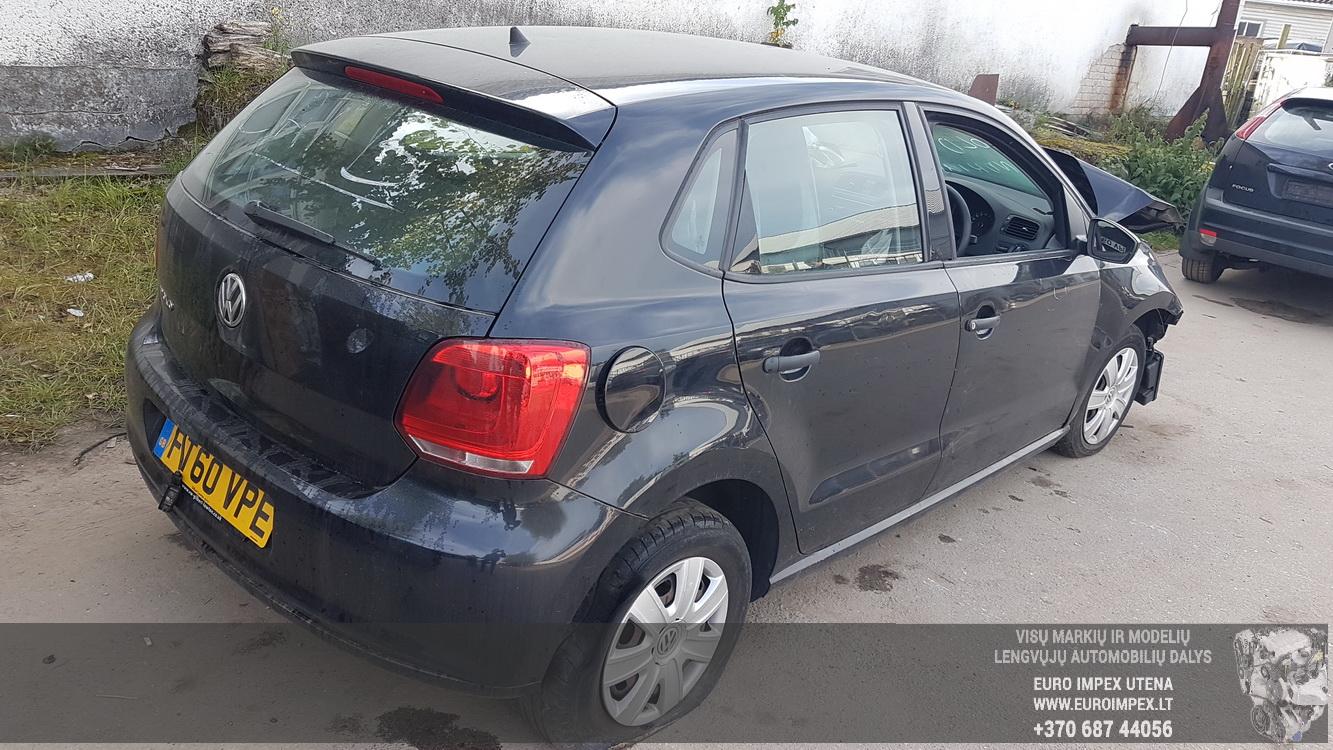 Naudotos automobilio dalys Volkswagen POLO 2011 1.2 Mechaninė Hečbekas 4/5 d. Juoda 2016-9-28