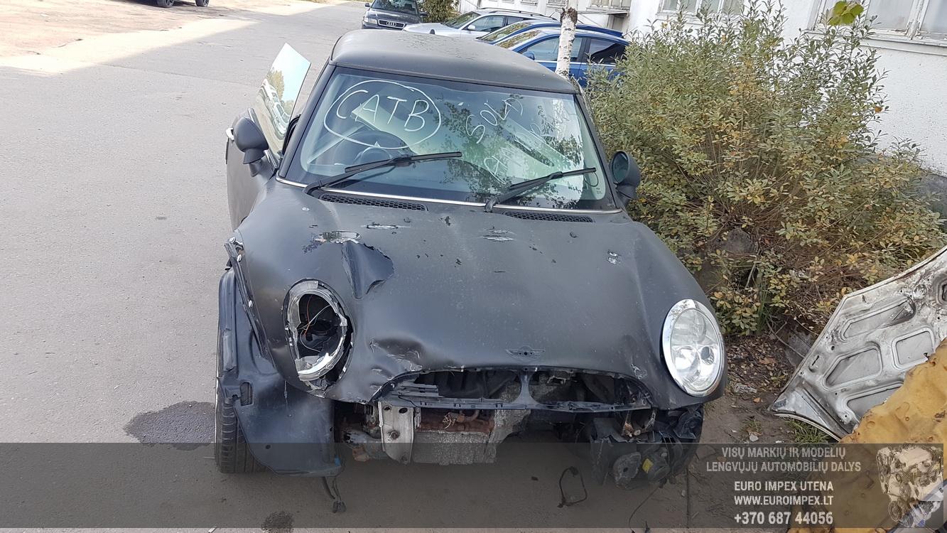 Naudotos automobiliu dallys Foto 2 Mini ONE 2002 1.6 Mechaninė Hečbekas 2/3 d. Juoda 2016-9-28 A2997