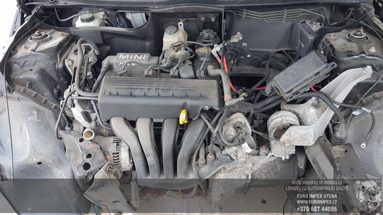 Naudotos automobiliu dallys Foto 8 Mini ONE 2002 1.6 Mechaninė Hečbekas 2/3 d. Juoda 2016-9-28 A2997