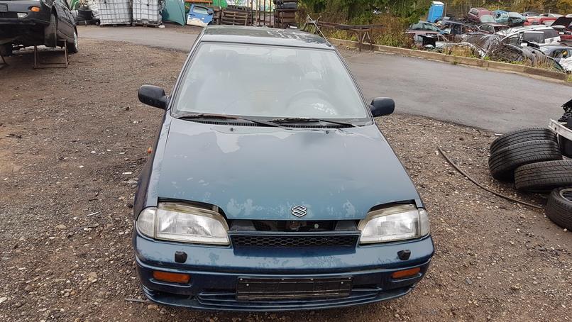 Naudotos automobilio dalys Suzuki SWIFT 1995 1.0 Mechaninė Hečbekas 2/3 d. Zalia 2016-10-05