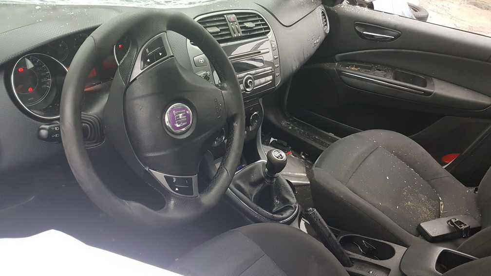 Naudotos automobiliu dallys Foto 5 Fiat BRAVO 2009 1.9 Mechaninė Hečbekas 4/5 d. Pilka 2016-10-31 A3044