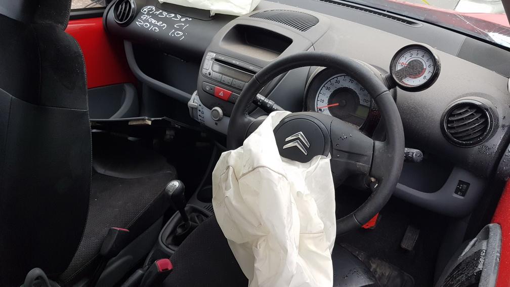 Naudotos automobilio dalys Citroen C1 2010 1.0 Mechaninė Hečbekas 2/3 d. Raudona 2016-10-26