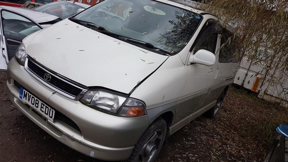 Naudotos automobilio dalys Toyota HIACE 2003 3.0 Automatinė Vienatūris 2/3 d. Balta 2016-10-26