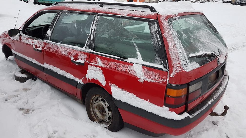 Naudotos automobilio dalys Volkswagen PASSAT 1992 2.0 Mechaninė Universalas 4/5 d. Raudona 2016-11-10