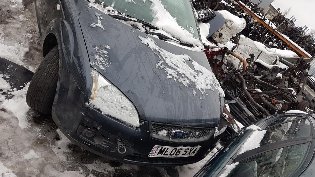 Naudotos automobilio dalys Ford FOCUS 2006 1.8 Mechaninė Hečbekas 4/5 d. Juoda 2016-11-16