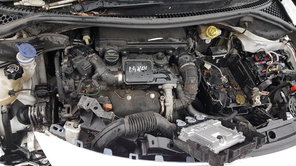 Naudotos automobiliu dallys Foto 8 Peugeot 207 2009 1.4 Mechaninė Hečbekas 2/3 d. Balta 2016-11-17 A3068