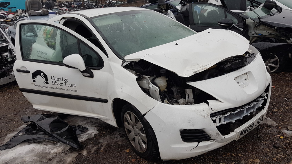 Naudotos automobiliu dallys Foto 2 Peugeot 207 2009 1.4 Mechaninė Hečbekas 2/3 d. Balta 2016-11-17 A3068