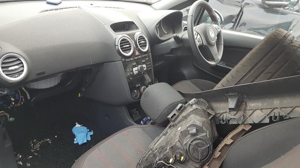 Naudotos automobilio dalys Opel CORSA 2014 1.4 Mechaninė Hečbekas 4/5 d. Pilka 2016-11-21