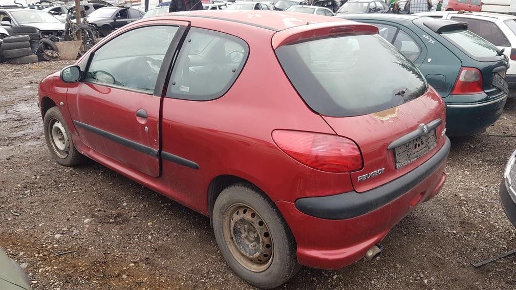 Naudotos automobilio dalys Peugeot 206 1999 2.0 Mechaninė Hečbekas 2/3 d. Raudona 2016-11-21