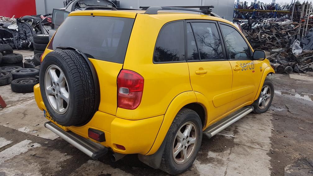 Naudotos automobilio dalys Toyota RAV-4 2003 2.0 Mechaninė Visureigis 4/5 d. Geltona 2016-11-21