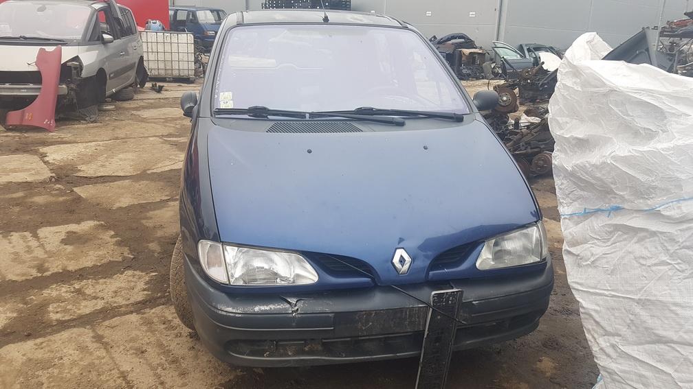 Naudotos automobiliu dallys Foto 1 Renault SCENIC 1998 1.6 Mechaninė Vienatūris 4/5 d. Melyna 2016-11-22 A3077