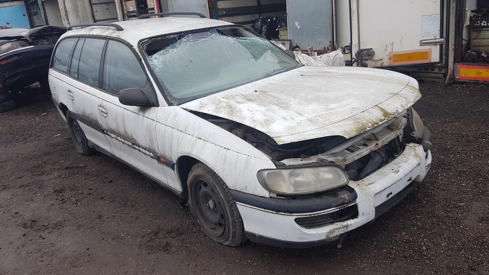 Naudotos automobiliu dallys Foto 2 Opel OMEGA 1995 2.5 Mechaninė Universalas 4/5 d. Balta 2016-11-25 A3079