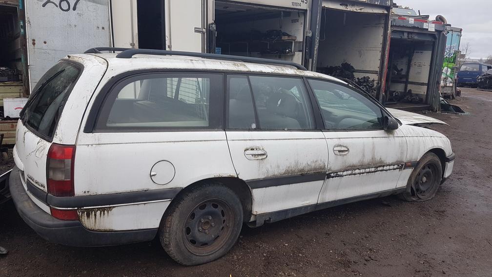 Naudotos automobiliu dallys Foto 3 Opel OMEGA 1995 2.5 Mechaninė Universalas 4/5 d. Balta 2016-11-25 A3079