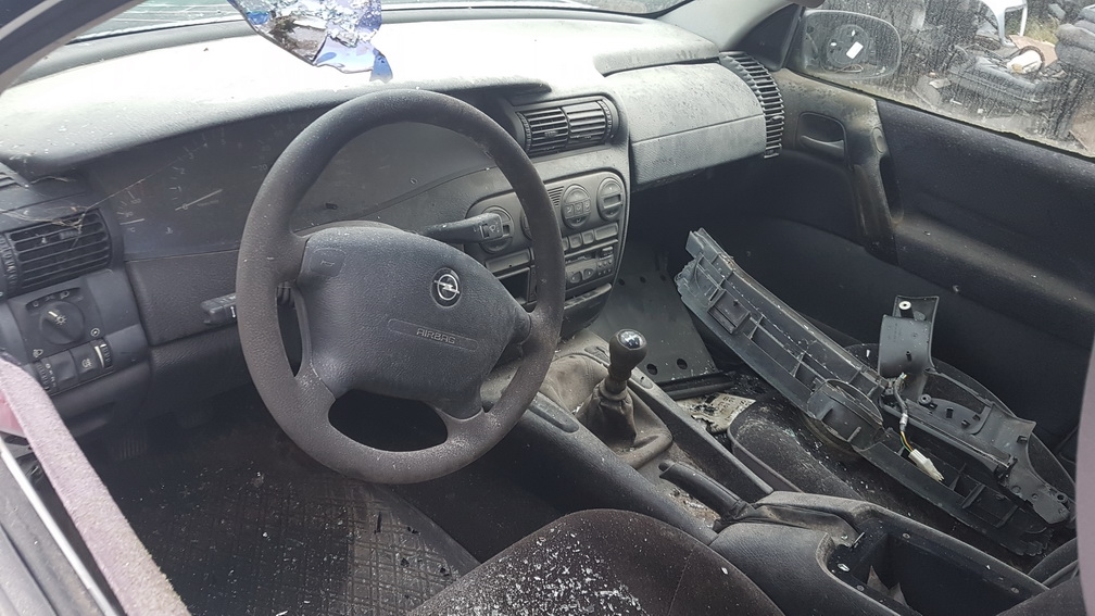 Naudotos automobiliu dallys Foto 6 Opel OMEGA 1995 2.5 Mechaninė Universalas 4/5 d. Balta 2016-11-25 A3079