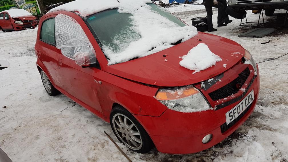 Naudotos automobiliu dallys Foto 4 Proton SAVVY 2007 1.2 Mechaninė Hečbekas 4/5 d. Raudona 2016-12-05 A3090