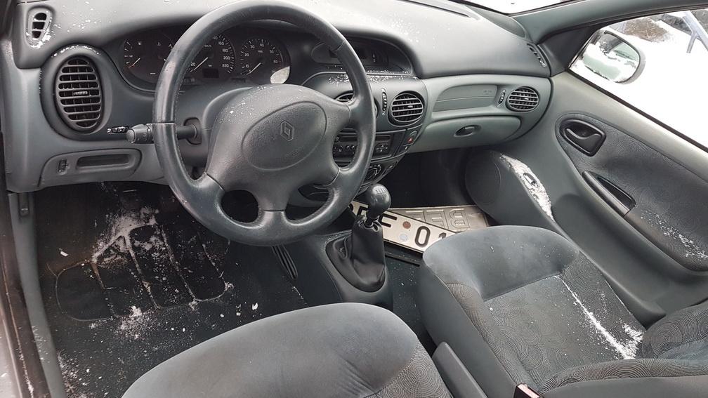 Naudotos automobilio dalys Renault MEGANE 1998 1.6 Mechaninė Hečbekas 4/5 d. Pilka 2016-12-07