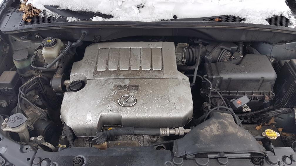 Naudotos automobiliu dallys Foto 8 Lexus RX - CLASS 2005 3.5 Automatinė Visureigis 4/5 d. Juoda 2016-12-15 A3109