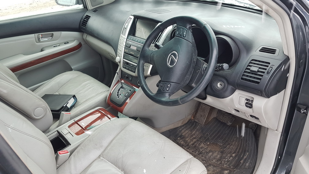 Naudotos automobilio dalys Lexus RX - CLASS 2005 3.5 Automatinė Visureigis 4/5 d. Juoda 2016-12-15