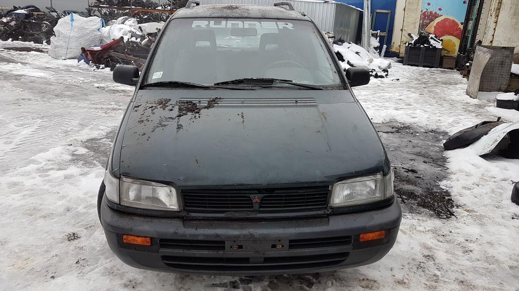 Naudotos automobilio dalys Mitsubishi SPACE RUNNER 1992 2.0 Mechaninė Vienatūris 4/5 d. Zalia 2016-12-19