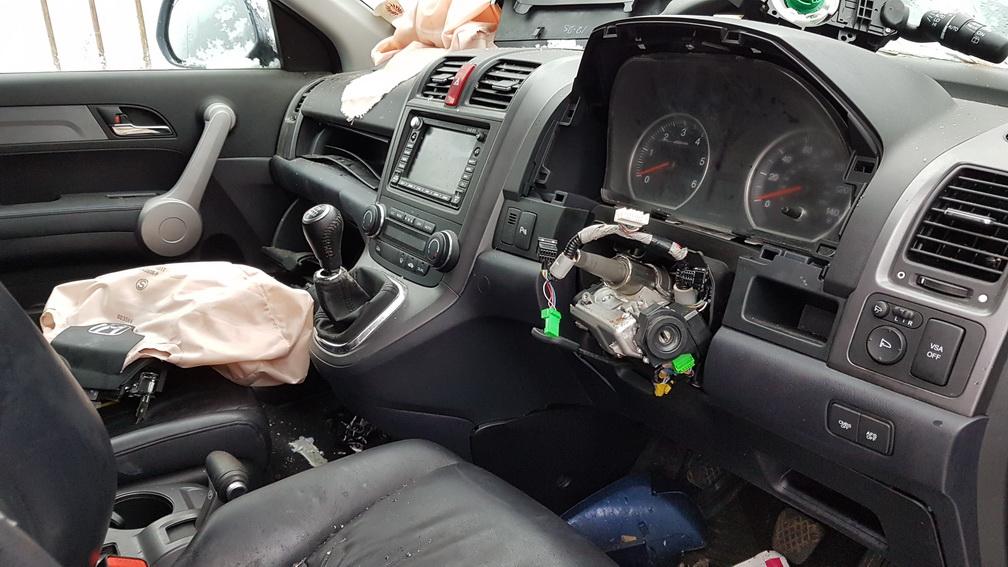 Naudotos automobiliu dallys Foto 4 Honda CR-V 2008 2.2 Mechaninė Visureigis 4/5 d. Melyna 2016-12-19 A3113