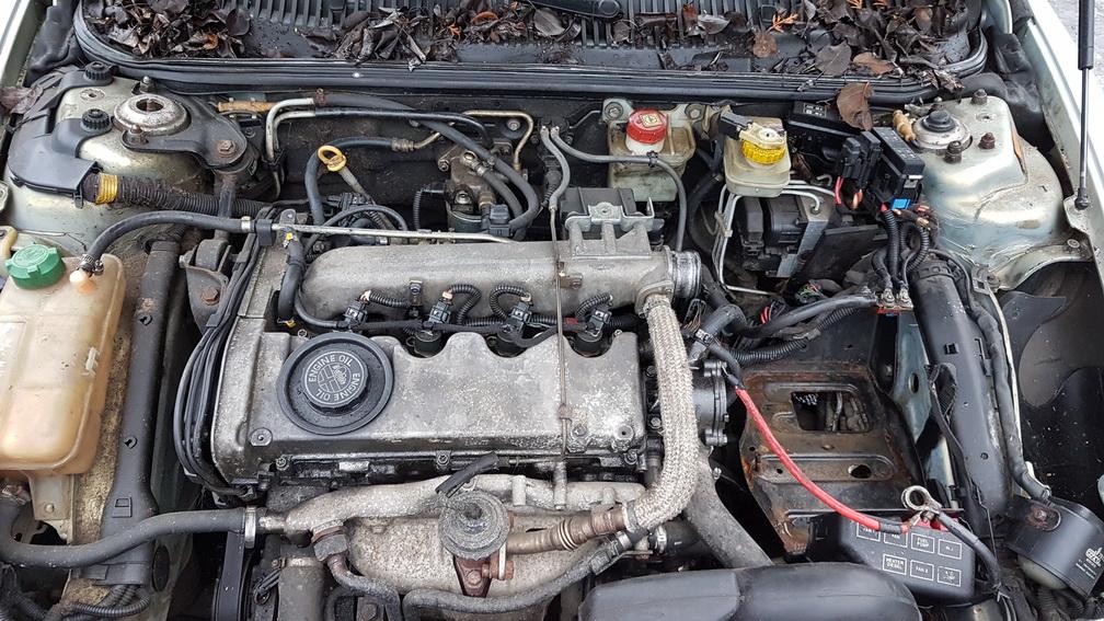Naudotos automobiliu dallys Foto 8 Alfa-Romeo 156 1999 1.9 Mechaninė Sedanas 4/5 d. Zydra 2016-12-21 A3116
