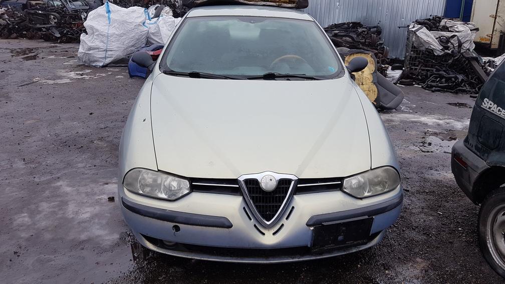 Подержанные Автозапчасти Alfa-Romeo 156 1999 1.9 машиностроение седан 4/5 d. лазурный 2016-12-21