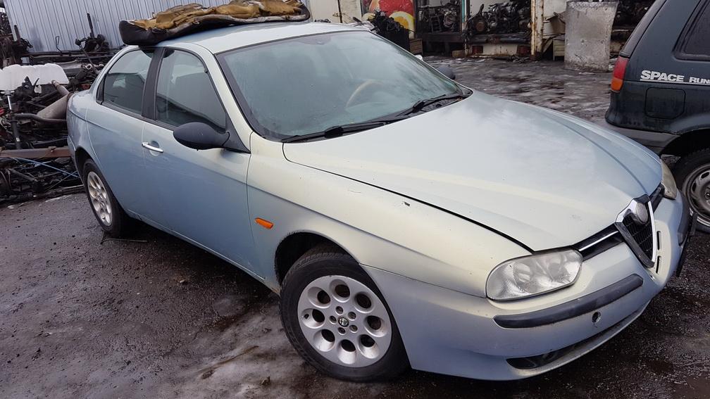 Naudotos automobiliu dallys Foto 2 Alfa-Romeo 156 1999 1.9 Mechaninė Sedanas 4/5 d. Zydra 2016-12-21 A3116