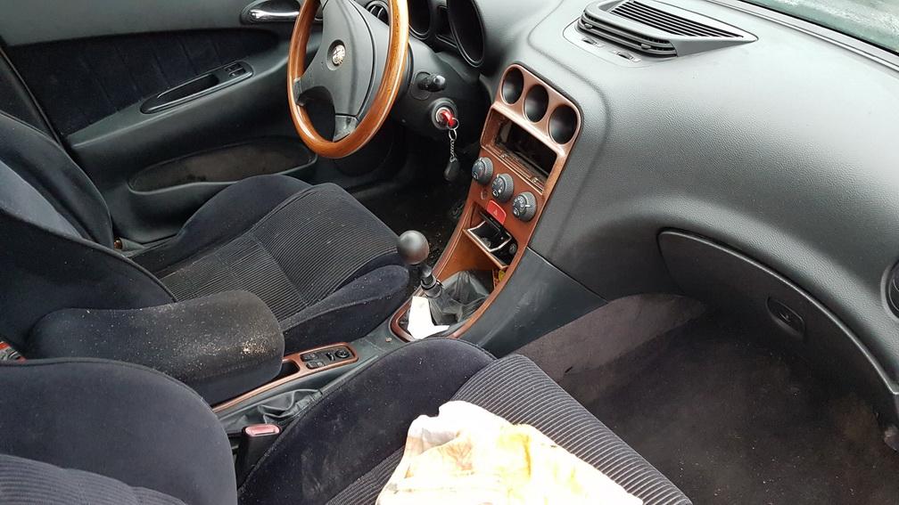 Naudotos automobiliu dallys Foto 4 Alfa-Romeo 156 1999 1.9 Mechaninė Sedanas 4/5 d. Zydra 2016-12-21 A3116