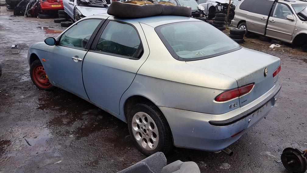 Naudotos automobilio dalys Alfa-Romeo 156 1999 1.9 Mechaninė Sedanas 4/5 d. Zydra 2016-12-21
