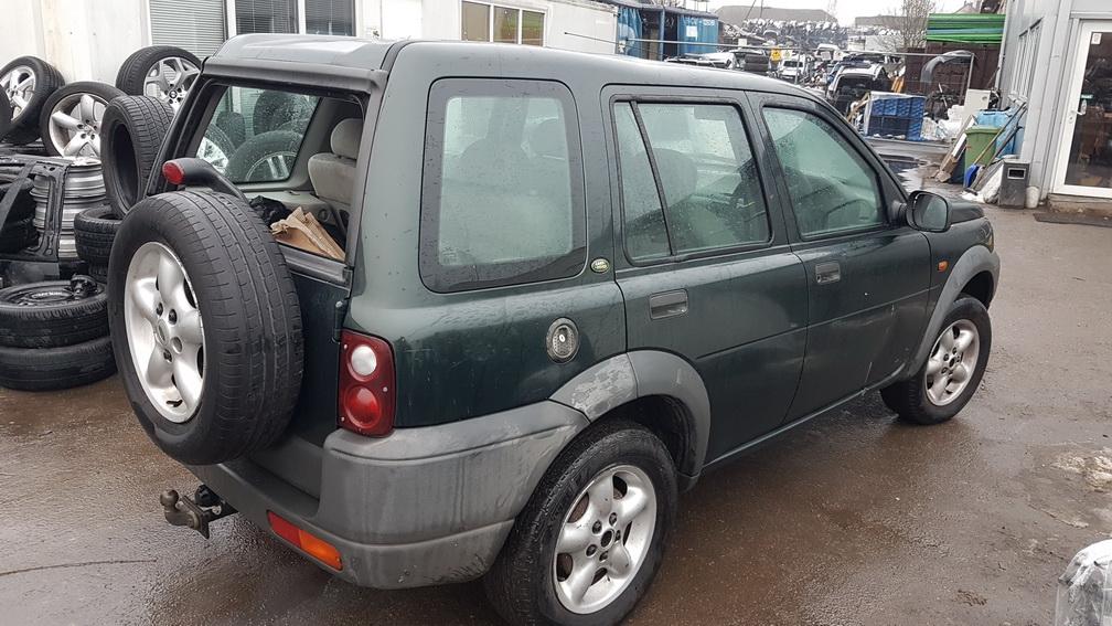 Naudotos automobilio dalys Land Rover FREELANDER 1998 2.0 Mechaninė Visureigis 4/5 d. Zalia 2016-12-21