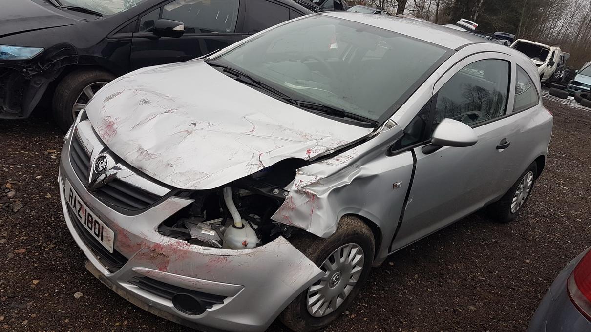 Naudotos automobilio dalys Opel CORSA 2008 1.3 Mechaninė Hečbekas 2/3 d. Pilka 2016-12-22