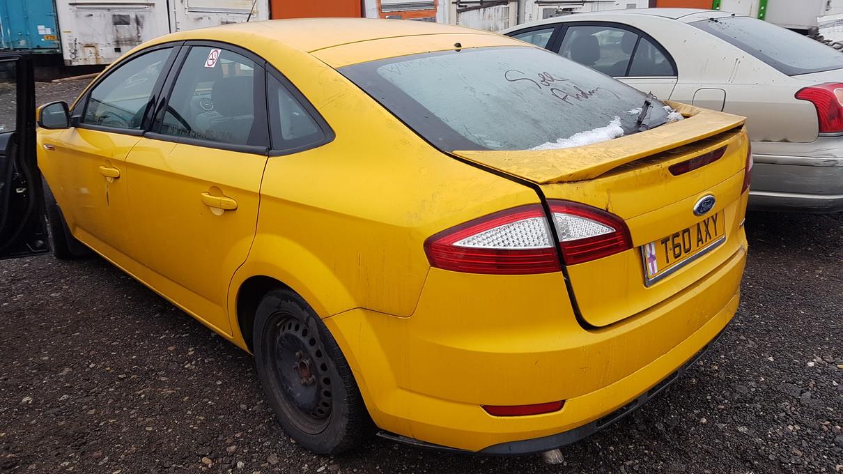 Naudotos automobilio dalys Ford MONDEO 2012 2.0 Mechaninė Hečbekas 4/5 d. Geltona 2016-12-22