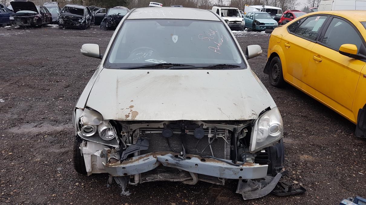 Toyota AVENSIS 2006 2.0 Mechaninė