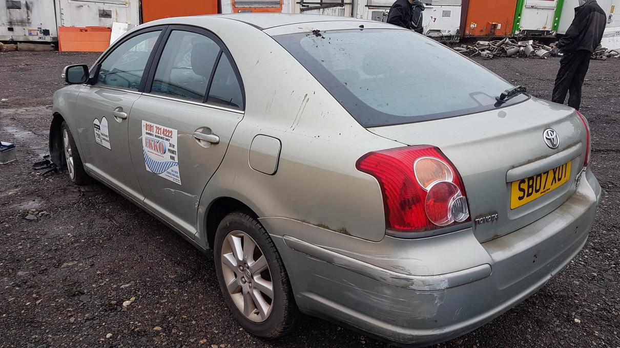 Naudotos automobilio dalys Toyota AVENSIS 2006 2.0 Mechaninė Hečbekas 4/5 d. Pilka 2016-12-22