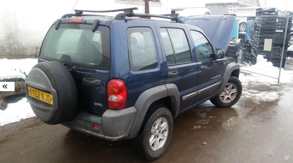 Naudotos automobilio dalys Jeep CHEROKEE 2003 2.5 Mechaninė Visureigis 4/5 d. Melyna 2016-12-28