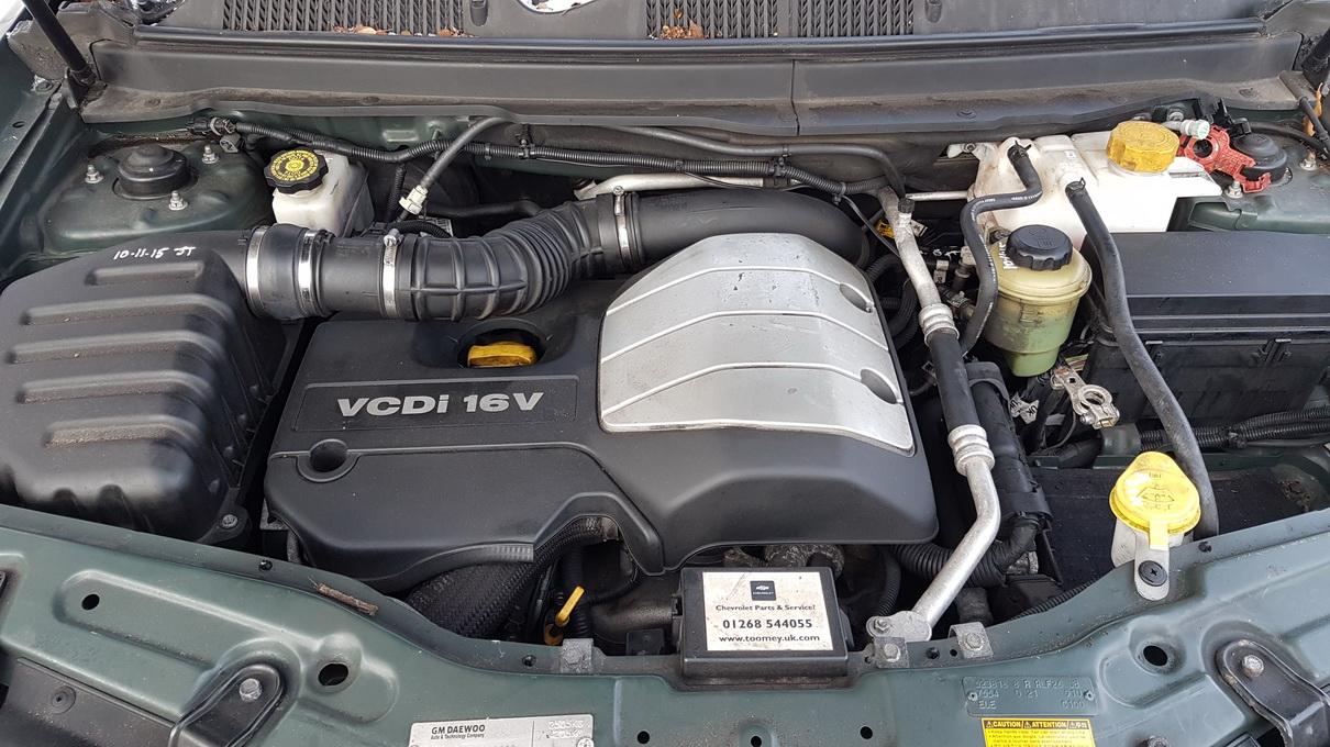 Naudotos automobiliu dallys Foto 8 Chevrolet CAPTIVA 2009 2.0 Automatinė Visureigis 4/5 d. Zalia 2016-12-29 A3133